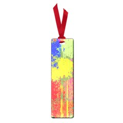Colorful Paint Spots Small Book Mark