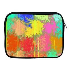 Colorful Paint Spots Apple Ipad 2/3/4 Zipper Case