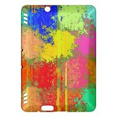 Colorful Paint Spots Kindle Fire Hdx Hardshell Case