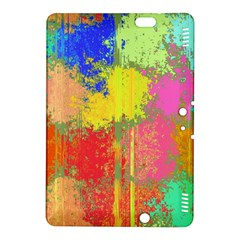 Colorful paint spots Kindle Fire HDX 8.9  Hardshell Case