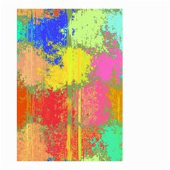Colorful Paint Spots Small Garden Flag