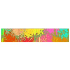 Colorful paint spots Flano Scarf