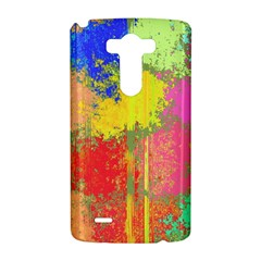 Colorful paint spots LG G3 Hardshell Case