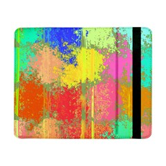 Colorful Paint Spots	samsung Galaxy Tab Pro 8 4  Flip Case