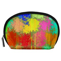 Colorful paint spots Accessory Pouch