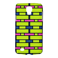 Pink,green,blue Rectangles Pattern Samsung Galaxy S4 Active (i9295) Hardshell Case