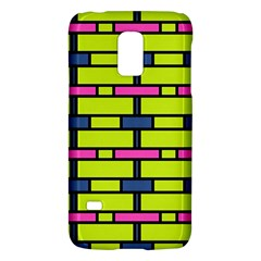 Pink Green Blue Rectangles Patternsamsung Galaxy S5 Mini Hardshell Case