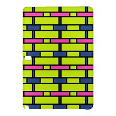 Pink green blue rectangles patternSamsung Galaxy Tab Pro 10.1 Hardshell Case