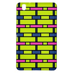 Pink green blue rectangles pattern	Samsung Galaxy Tab Pro 8.4 Hardshell Case