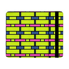 Pink green blue rectangles pattern	Samsung Galaxy Tab Pro 8.4  Flip Case