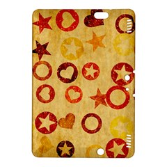 Shapes on vintage paper Kindle Fire HDX 8.9  Hardshell Case