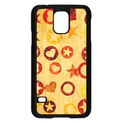 Shapes on vintage paper	Samsung Galaxy S5 Case