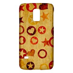 Shapes on vintage paperSamsung Galaxy S5 Mini Hardshell Case