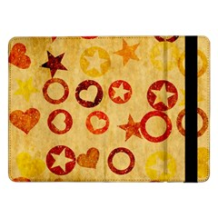 Shapes on vintage paperSamsung Galaxy Tab Pro 12.2  Flip Case