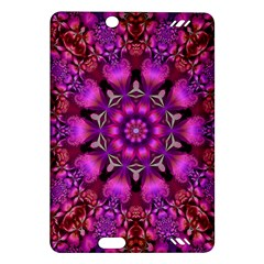Pink Fractal Kaleidoscope  Kindle Fire HD (2013) Hardshell Case