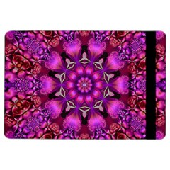 Pink Fractal Kaleidoscope  Apple iPad Air 2 Flip Case