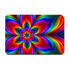 Rainbow Flower Small Door Mat