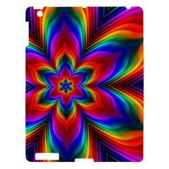 Rainbow Flower Apple Ipad 3/4 Hardshell Case