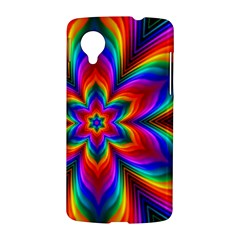 Rainbow Flower Google Nexus 5 Hardshell Case