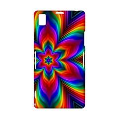 Rainbow Flower Sony Xperia Z1 L39H Hardshell Case