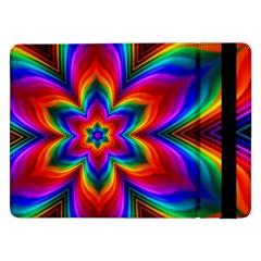 Rainbow Flower Samsung Galaxy Tab Pro 12.2  Flip Case
