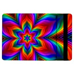 Rainbow Flower Apple Ipad Air Flip Case
