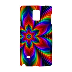 Rainbow Flower Samsung Galaxy Note 4 Hardshell Case