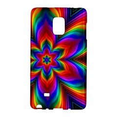 Rainbow Flower Samsung Galaxy Note Edge Hardshell Case