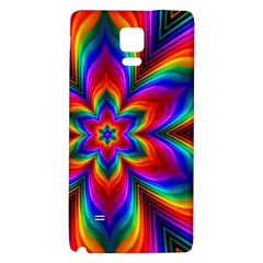 Rainbow Flower Samsung Note 4 Hardshell Back Case
