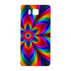 Rainbow Flower Samsung Galaxy Alpha Hardshell Back Case
