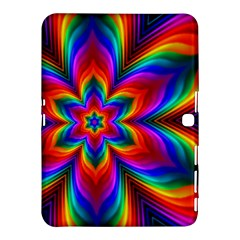 Rainbow Flower Samsung Galaxy Tab 4 (10.1 ) Hardshell Case