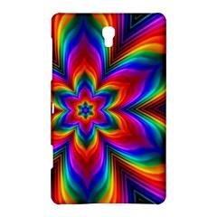 Rainbow Flower Samsung Galaxy Tab S (8.4 ) Hardshell Case