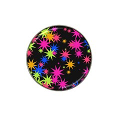 Colorful Stars Pattern Hat Clip Ball Marker