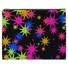 Colorful Stars Pattern Cosmetic Bag (xxxl)