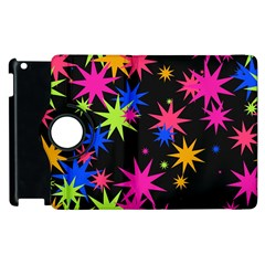 Colorful Stars Pattern Apple Ipad 3/4 Flip 360 Case