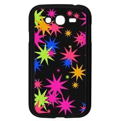 Colorful Stars Pattern Samsung Galaxy Grand Duos I9082 Case (black)