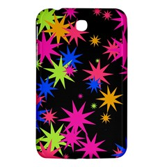 Colorful Stars Pattern Samsung Galaxy Tab 3 (7 ) P3200 Hardshell Case