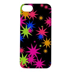 Colorful Stars Pattern Apple Iphone 5s Hardshell Case
