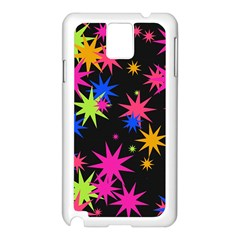Colorful Stars Pattern Samsung Galaxy Note 3 N9005 Case (white)