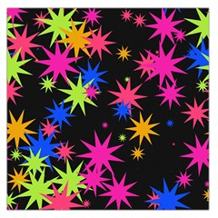 Colorful stars pattern Satin Scarf