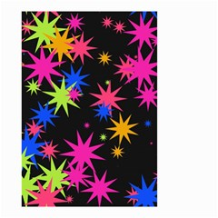 Colorful stars pattern Small Garden Flag