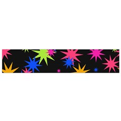 Colorful stars pattern Flano Scarf