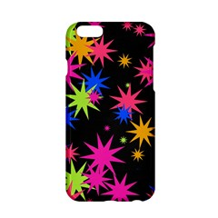 Colorful stars pattern Apple iPhone 6 Hardshell Case