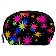 Colorful stars pattern Accessory Pouch