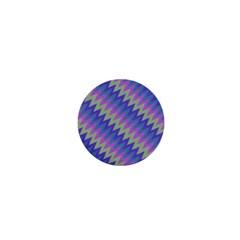 Diagonal Chevron Pattern 1  Mini Magnet