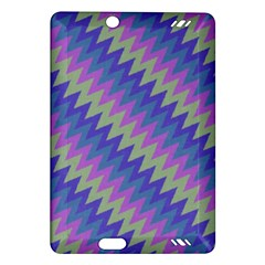 Diagonal Chevron Pattern Kindle Fire Hd (2013) Hardshell Case