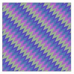 Diagonal chevron pattern Satin Scarf