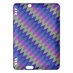 Diagonal chevron pattern	Kindle Fire HDX Hardshell Case