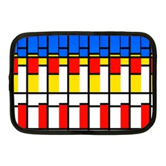 Colorful Rectangles Pattern Netbook Case (medium)