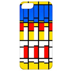 Colorful Rectangles Pattern Apple Iphone 5 Classic Hardshell Case